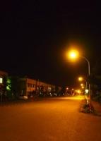 夜道のイメージ写真